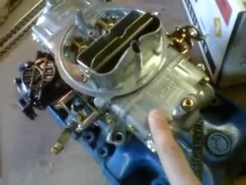 Holley carb flooding & hard starting solutions