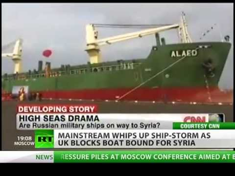 Media ship-storm over Russian vessels 'bound for Syria'