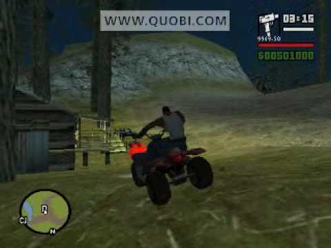 Big Foot en el GTA San Andreas (Pie Grande)