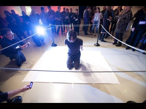 Shorts: Tony Orrico performs at PopTech 2011