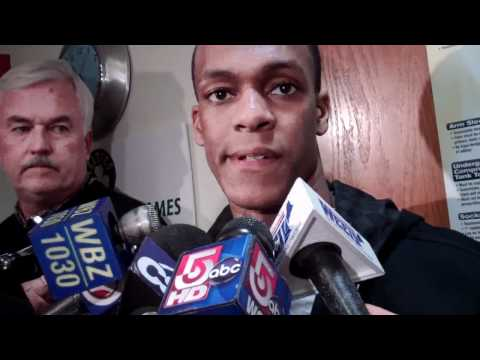 Feb 13 2011 Rajon Rondo Celtics NBA Heat.flv