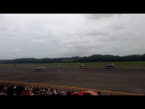 Republic of Singapore Airforce Open House 2016 ( ROH16) Fighter Aircraft Scramble