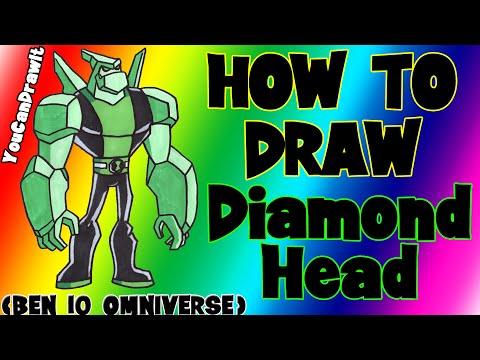 Видео как нарисовать героев Бен 10