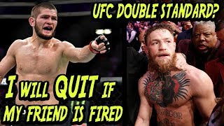 Investigating Khabib's THREAT To Leave UFC Over McGregor Double Standard