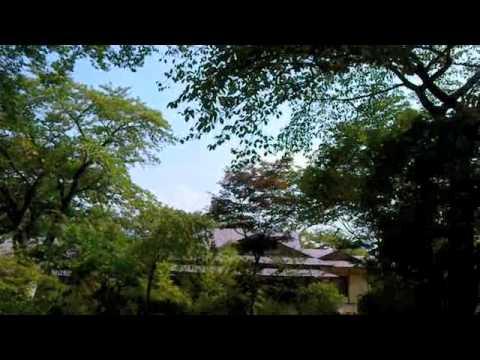 磐梯熱海温泉 万葉の宿  八景園〜夏の庭園を散策〜