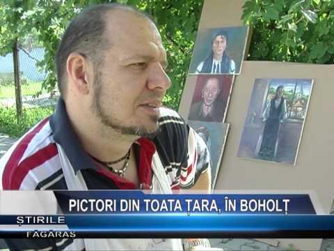 PICTORI DIN TOATĂ ŢARA, ÎN BOHOLŢ