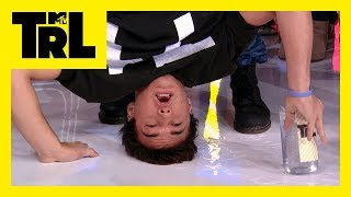 The Dolan Twins Kiss a Fan & Do a Handstand for 'Dolan Dares' | #TRL