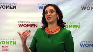 Erica Ariel Fox - Texas Conference for Women 2013