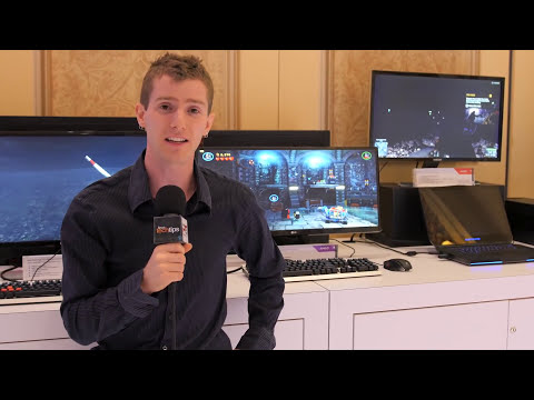 AMD Freesync Hands-on with BenQ, Samsung & LG Monitors - CES 2015