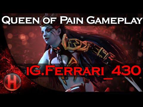 iGFerrari430 Queen of Pain Gameplay Dota 2