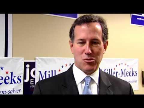 RAW: Rick Santorum Speaks on Iowa Politics