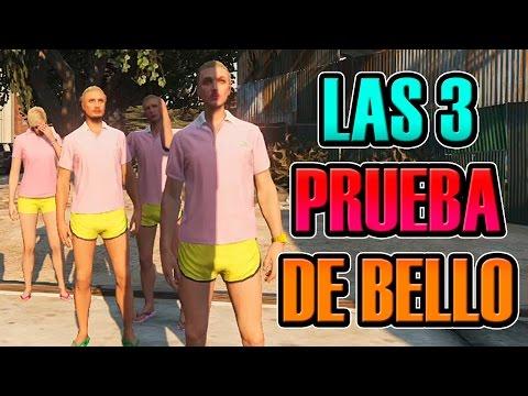 GTA V ONLINE   LAS 3 PRUEBAS DE BELLO EL DESTELLO   NEXXUZ, ÁNGEL, SOFY Y VALLE   Josemi