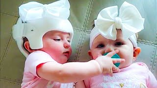 Funny Twins Baby Arguing Everything #4