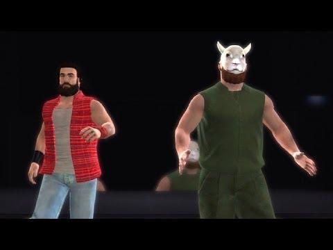 WWE '13 Community Showcase: Luke Harper & Eric Rowan w/Sheep Mask! (PlayStation 3)