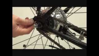 How To Remove a Shimano Nexus 7 Nexus 8  Hub and Inter-M Roller Brake Rear Wheel