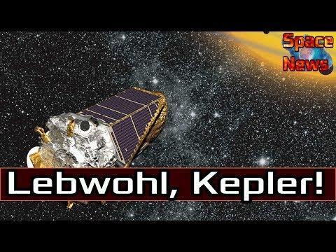 Weltraumteleskop Kepler - Abschied vom Exoplanetenjäger! [Space News]