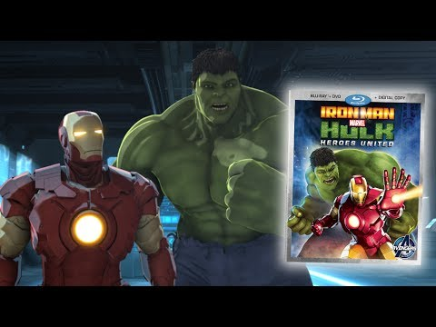 Marvel's Iron Man and Hulk Heroes United Blu-ray Review (feat. AntonyC)