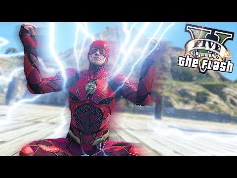 THE FLASH RUNS AT SPEED OF LIGHT! Fastest Man Alive (GTA 5 Quicksilver Mod) thumbnail