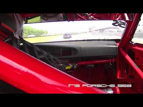 2012 PCA Racing Round 2 Race 2 - New Jersey Motorsports Park Thunderbo