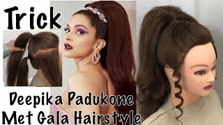 Most Beautiful Hairstyle for party Easy Trick   Wedding hairstyles   Red Carpet Hairstyle