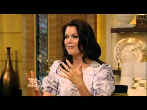 Bellamy Young - Live with Kelly and Michael