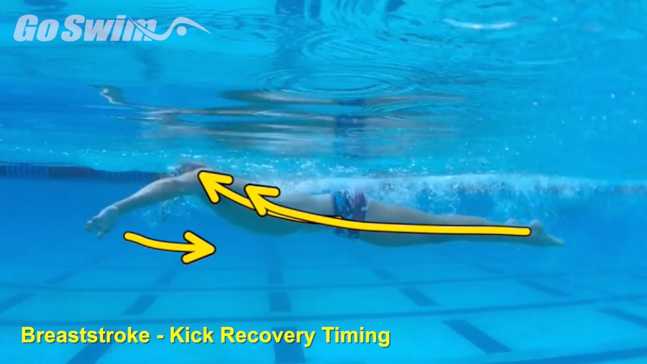 Breaststroke - Kick Recovery Timing