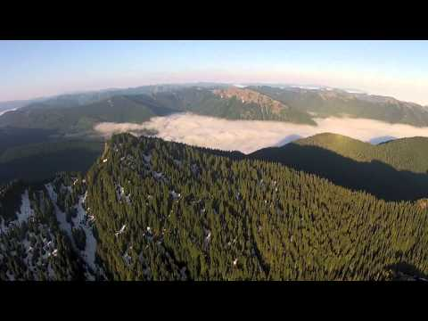 Helicopter Flight from Wenatchee to Hillsboro