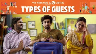 Types Of Guests | The Timeliners
