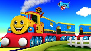 MR Copper and His Friends - Choo Choo Choo Cartoon Train videos for Kids - Toy Factory Train