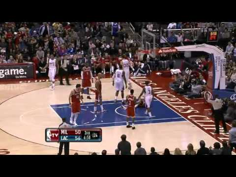 Milwaukee Bucks at Los Angeles Clippers 1.7.12 Recap