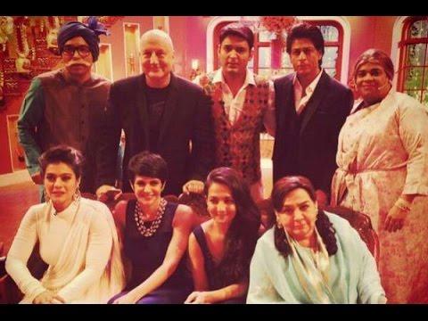Comedy Nights With Kapil: Shahrukh, Kajol Shoot DDLJ-Special Episode - BT