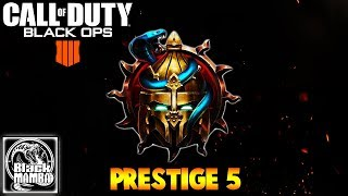 They NERF the MADDOX RFB?! ENTERING PRESTIGE 5 - BLACK OPS 4