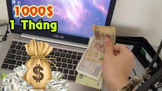 [Sỹ Kẹo Vlog] Góc Làm Việc 1000$ 1 Tháng Của Mình