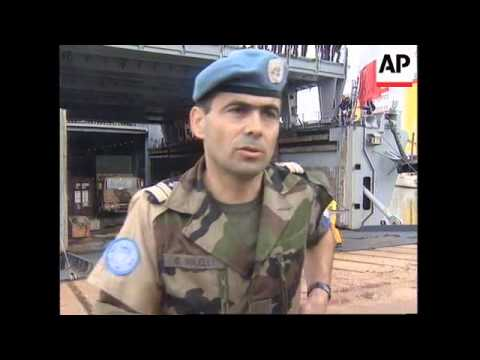 CROATIA: FRENCH SOLDIERS ARRIVE TO PROTECT UN TROOPS IN BOSNIA