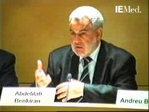 Conférence de M. Abdelilah Benkiran, chef du gouvernement du Royaume