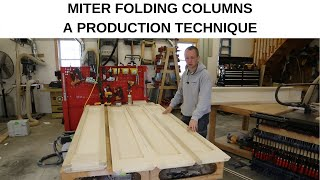 Miter Folding - A Production Technique for Making Columns (no exposed fasteners)