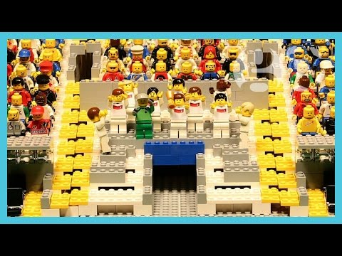 World Cup final 2014 - Mario Götze's wonder goal | Argentina vs Germany | Brick-by-brick