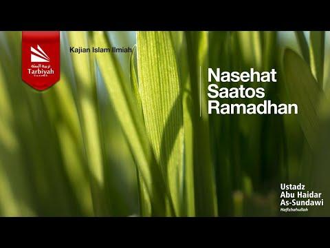 Khutbah 'iedul Fitri - Nasehat Saatos Ramadhan
