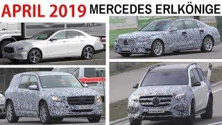 Mercedes Erlkönige April 2019  E-Class Facelift W213 - S-Class W223  - GLB - GLS X167 - 4K SPY VIDEO
