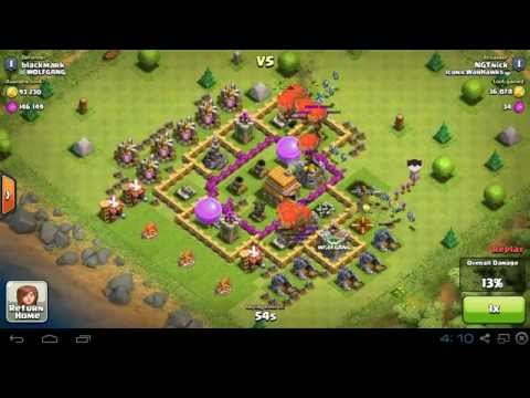 Baloonian attack! - Clash of Clans