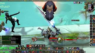 Thunderfury Fury Warrior Dire Maul East Jump Run - Classic WoW