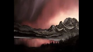 Painting the Northern Lights and Alaska part 4