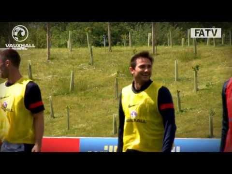 Frank Lampard amazing goal England training vs Republic of Ireland