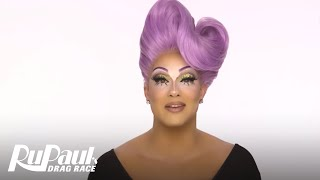 Drag Makeup Tutorial: Alexis Michelle's Iconic Look | RuPaul's Drag Race Season 9 | Now on VH1