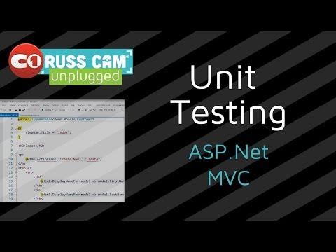 Russ Cam® Unplugged: Unit Testing ASP.Net MVC