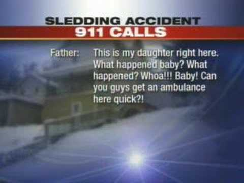 Tape Of 911 Calls In Girl's Deadly Sled Crash