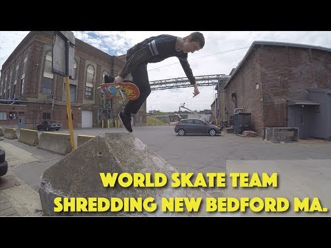World skate team shredding New Bedford ma.