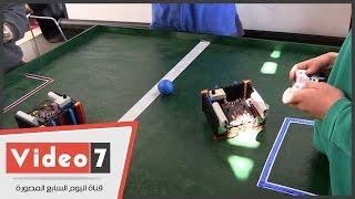 بالفيديو..روبوت آلى سهل التركيب لتعليم الأطفال صنع الروبوتات