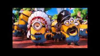 Y.M.C.A. MINIONS DESPICABLE ME 2 SOUNDTRACK