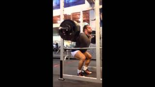 Dr. Israetel's one WEIRD TRICK for Bigger Quads (415lb Slow Ecc Squat 5x8)